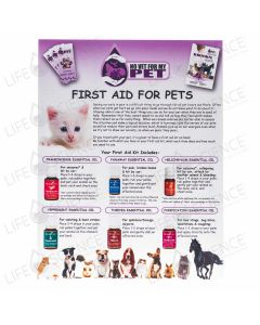 No Vet  First Aid for Pets 50 Sheets