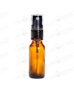 1/2 oz Amber Glass Bottles with Pump Sprayers (6-pack)