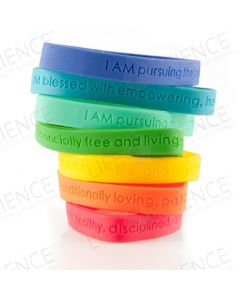 Oola and YL Branded Affirmation Band
