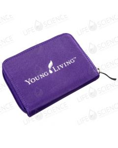 Aroma Tote™ Wallet 12 Vial 2-ML Carrying Case Purple